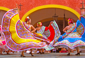 Folkloric dance group